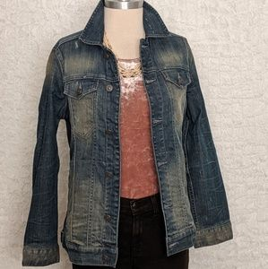 Allsaints  Spitalfields Denim Jacket